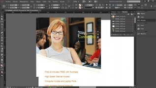 Adobe InDesign ekran 1 Thumbnail