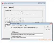 Adobe Type Manager imagen 2 Thumbnail