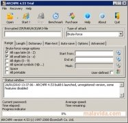Advanced RAR Password Recovery imagen 1 Thumbnail