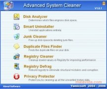 Advanced System Cleaner imagen 1 Thumbnail