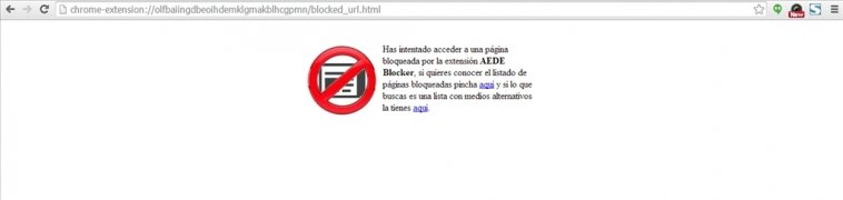 AEDE blocker imagen 3 Thumbnail