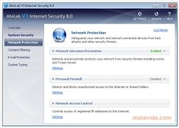 AhnLab V3 Internet Security imagem 3 Thumbnail