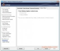AhnLab V3 Internet Security immagine 4 Thumbnail