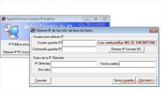 AjpdSoft Aviso Cambio IP pública imagen 2 Thumbnail