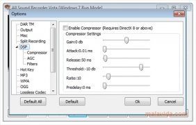 All Sound Recorder Vista immagine 3 Thumbnail