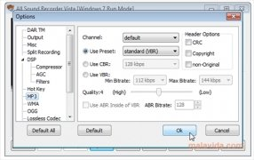 All Sound Recorder Vista immagine 4 Thumbnail