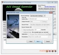 All Sound Recorder Vista immagine 5 Thumbnail