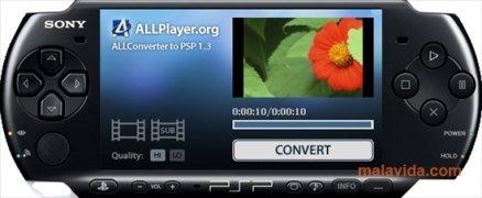 ALLConverter to PSP Изображение 1 Thumbnail