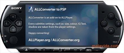 ALLConverter to PSP imagen 4 Thumbnail