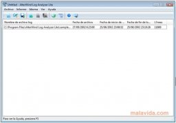 AlterWind Log Analyzer imagen 2 Thumbnail