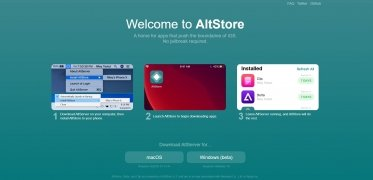 AltStore Installer immagine 2 Thumbnail
