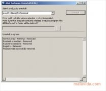 Alwil Software Uninstall Utility imagen 1 Thumbnail