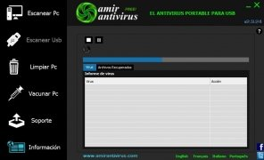 Amir Antivirus imagen 3 Thumbnail