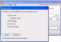 Ammyy Admin  3.0 Español imagen 3