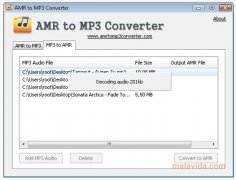AMR to MP3 Converter 1 4 - Download for PC Free