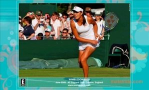 Ana Ivanovic Screensaver Изображение 2 Thumbnail