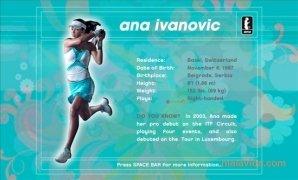 Ana Ivanovic Screensaver imagem 6 Thumbnail