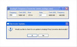 AnalogX Frequency Converter immagine 2 Thumbnail