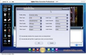 Aplus Video Converter immagine 4 Thumbnail