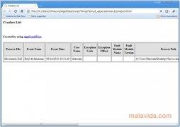 AppCrashView imagen 2 Thumbnail