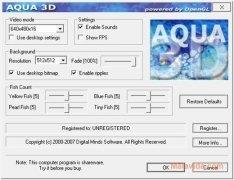 Aqua 3D Screensaver 画像 5 Thumbnail