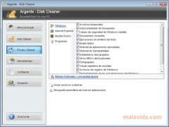 Argente Disk Cleaner immagine 4 Thumbnail