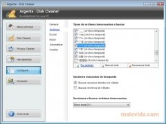 Argente Disk Cleaner image 5 Thumbnail
