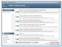 Argente Registry Cleaner Изображение 1 Thumbnail