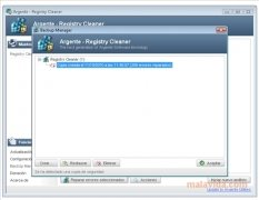 Argente Registry Cleaner immagine 2 Thumbnail