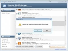 Argente StartUp Manager Изображение 2 Thumbnail