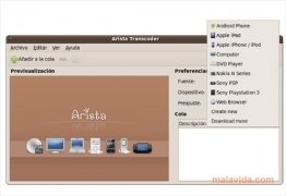 Arista Transcoder image 4 Thumbnail