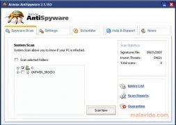 Arovax AntiSpyware bild 4 Thumbnail
