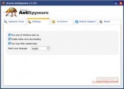 Arovax AntiSpyware imagen 5 Thumbnail
