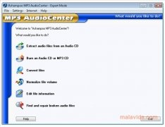 Ashampoo MP3 AudioCenter immagine 1 Thumbnail
