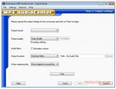 Ashampoo MP3 AudioCenter immagine 2 Thumbnail