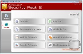 Ashampoo Security Pack immagine 2 Thumbnail