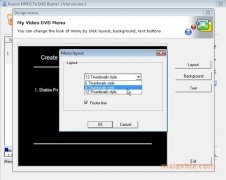 Aurora MPEG to DVD Burner Изображение 3 Thumbnail