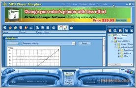 AV MP3 Music Morpher image 2 Thumbnail