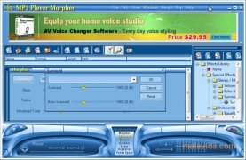 AV MP3 Music Morpher image 4 Thumbnail