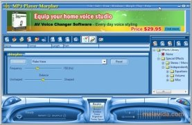 AV MP3 Music Morpher Изображение 5 Thumbnail