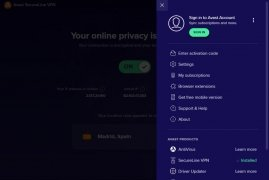 Avast SecureLine VPN imagen 7 Thumbnail