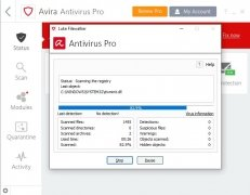 Avira Antivirus Pro imagen 2 Thumbnail