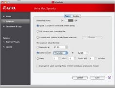Avira Mac Security image 2 Thumbnail