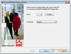 Avira NTFS4DOS imagen 1 Thumbnail