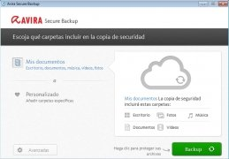 Avira Secure Backup immagine 1 Thumbnail