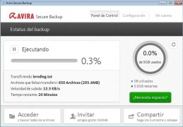 Avira Secure Backup bild 2 Thumbnail
