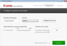 Avira Secure Backup immagine 3 Thumbnail