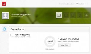 Avira Secure Backup immagine 4 Thumbnail