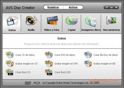 AVS Disc Creator bild 1 Thumbnail
