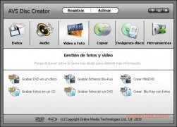 AVS Disc Creator bild 2 Thumbnail